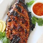 Whole Red Snapper Grilled