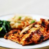 Grilled Chicken Breast with Onions