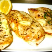 Chicken Breast in a Lemon and Butter Sauce