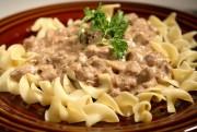Stroganoff (Carne ou Frango)
